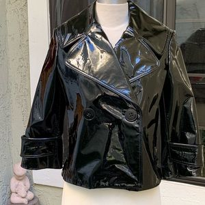 ROBERT RODRIGUEZ Women's Patent Leather Jacket